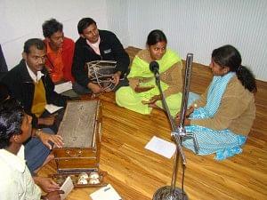 Community Members on the Radio