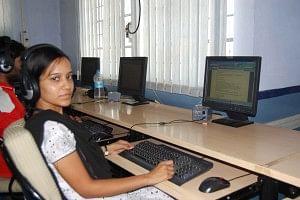 Pooja employee of SourcePilani Rural BPO