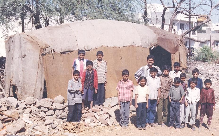 Vipul Thaker's school and students