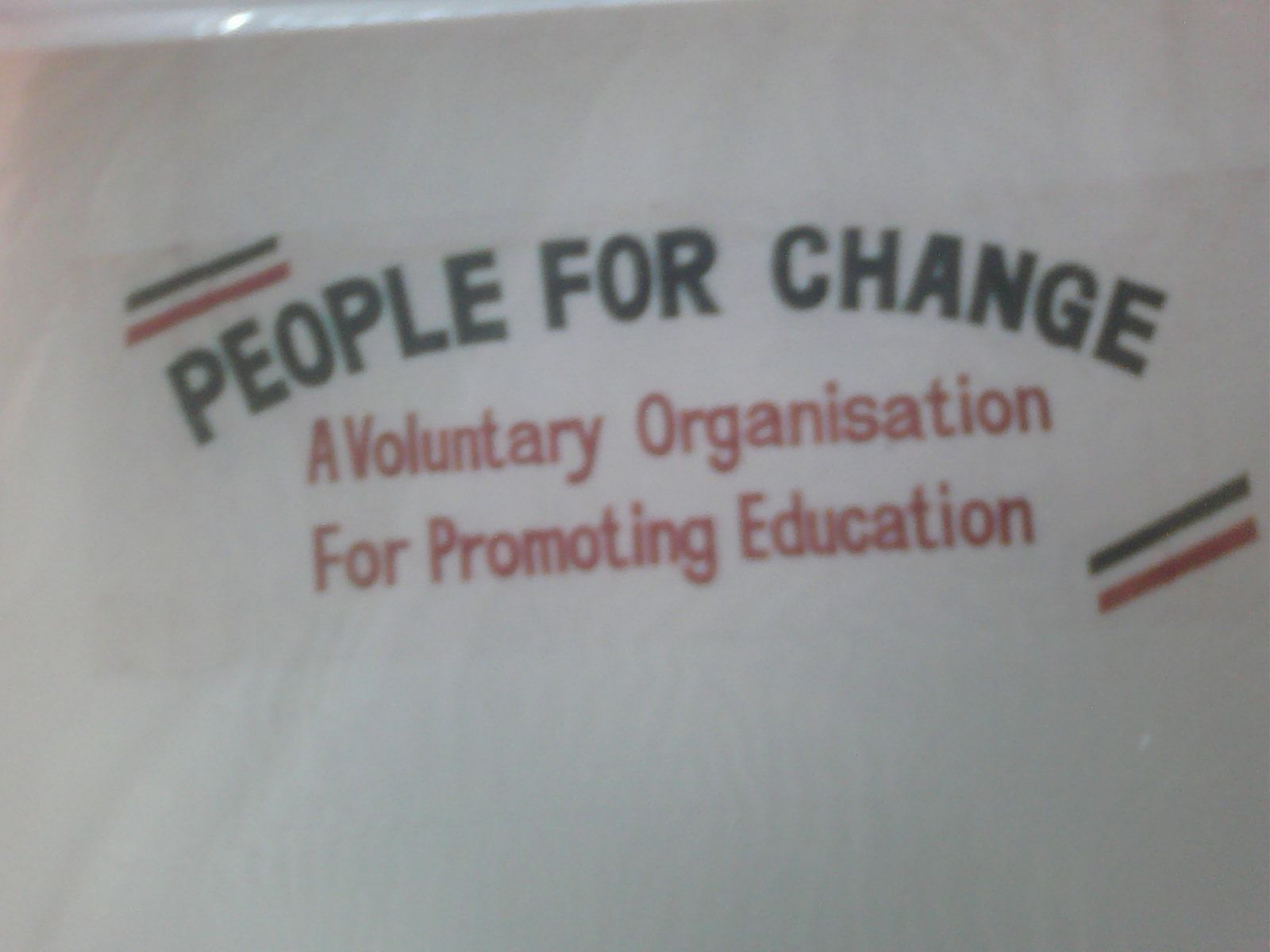 People for Change: Spreading Education