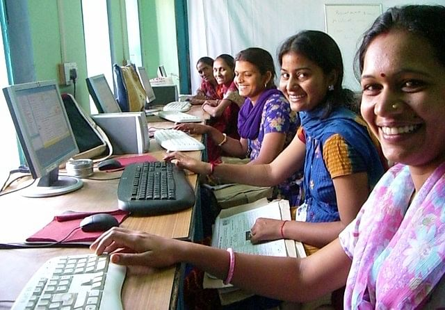 The All Women team at Source for Change