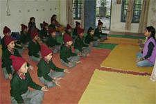 Children at the Purkal school