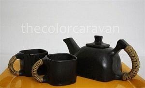 Longpi or the black stone pottery