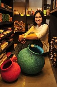 Urvashi Mody, partner of Eco Corner Mumbai, a store that encourages living a healthy and eco-friendly lifestyle
