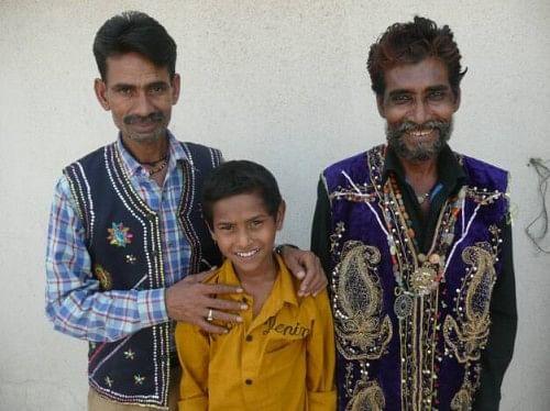 The magical trio of Aas Mohd, Babban Khan and Nadir Khan