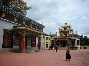 Two more temples in the monastry. Smaller temples that are also peaceful places where monks meditate.