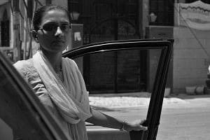 A confident Sakha chauffeur