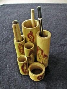 Multiple pen holders (Painted)