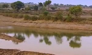 A water shed at Hiware Bazar