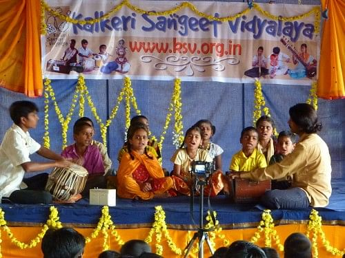A performance by the students of KSV