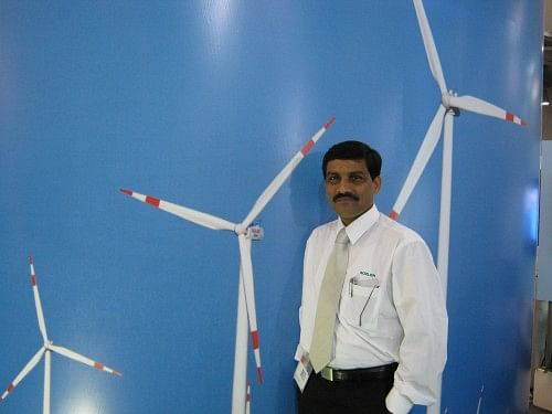 Nitin Raikar, a renewable energy advocate and one of the key presenters of The Climate Project