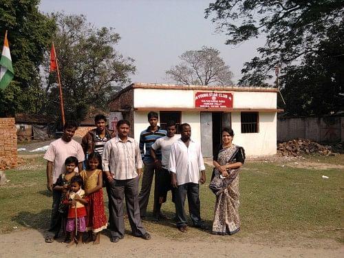 Local municipal health officer, Dr Kasturi Bakshi, initiated the movement towards 100 per cent sanitation in the slum area. (Courtesy: Dr Kasturi Bakshi)