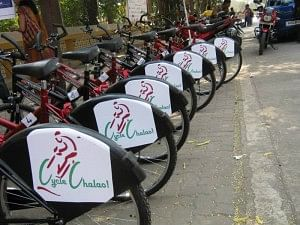 Cycle Chalao Stand