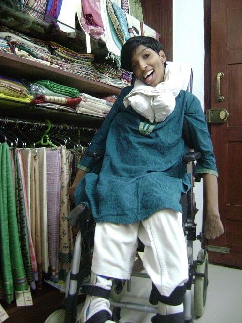 Bhavna Botta at her boutique