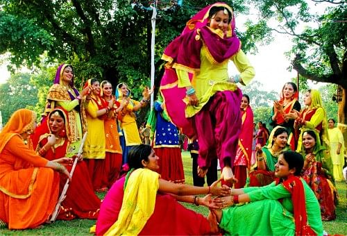Colourful festivities in Punjab