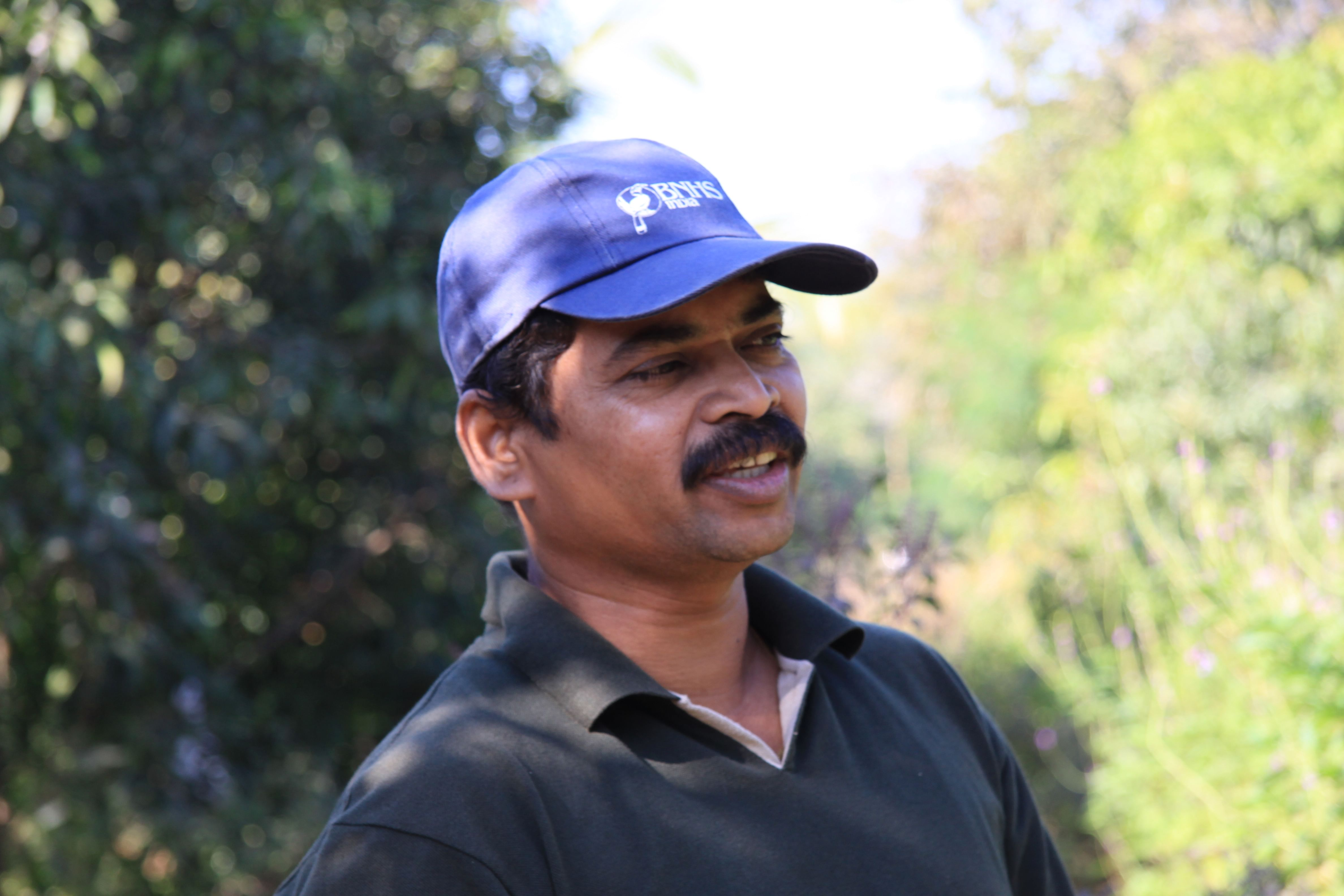 Rajendra Owale - The creator of the Butterfly Park
