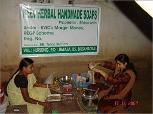 Teaching Women to Manufacture Neev Herbal Soaps
