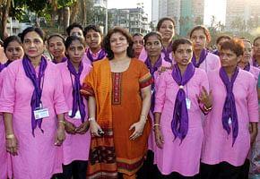 The Team of Priyadarshini Taxi Service