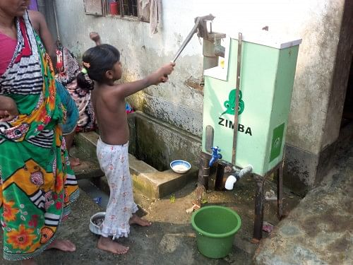 ZIMBA being used for providing potable water in Dhaka