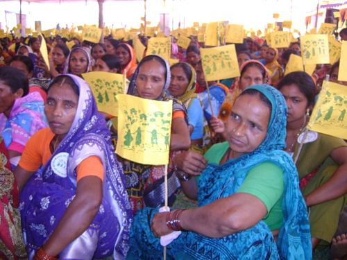 Tribal women in West Bengal