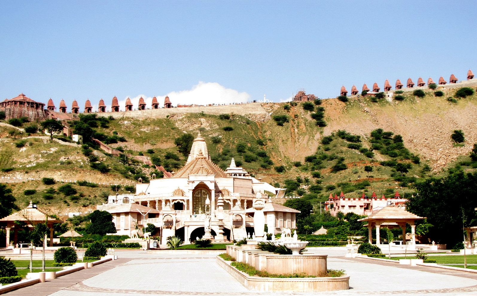 Tbi travel ajmer where spirituality meets tranquility the majestic digambar jain temple of nareli on the outskirts of ajmer altavistaventures Images