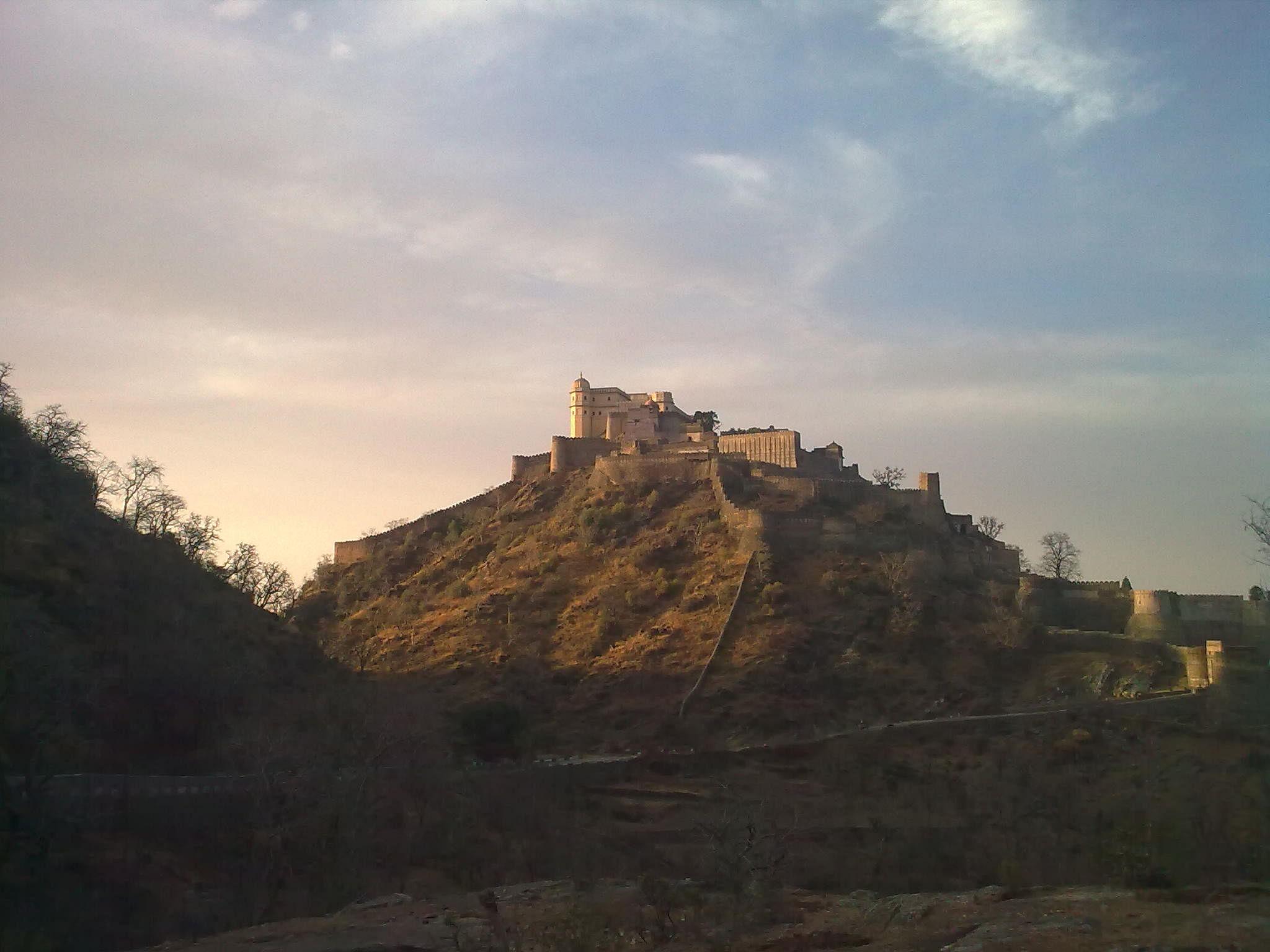 The palace within Kumbhalgarh's walls