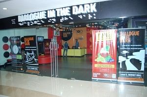 Dialogue in the Dark centre, Hyderabad