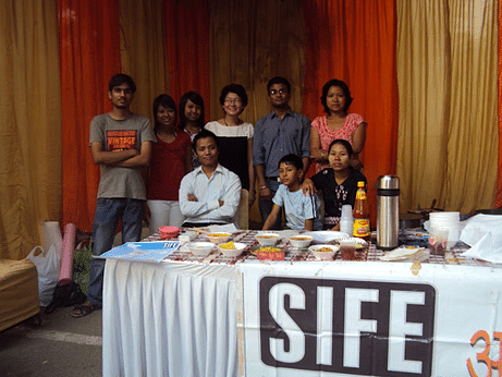 """Food Project"" initiated by the IITD students associated with SIFE has enabled Indians to get a taste of Burmese cuisine"