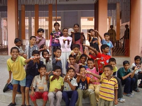 Children at India Vision Foundation, one of the beneficiary NGOs of i-Probono's service
