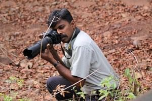 Paresh Porob, the courageous Forest Ranger who is also a sensitive photographer