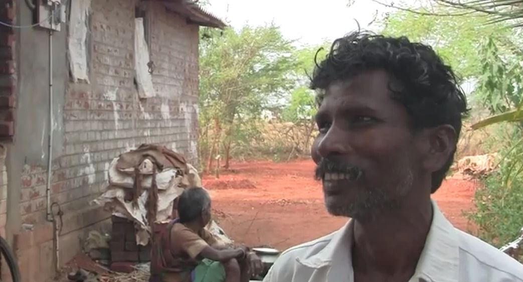 Parameswaran was given a loan to build a toilet in his home