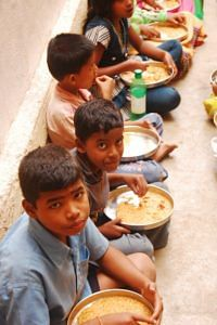 Many times, the mid-day meal is the only food the children get to eat in the entire day, and forms one of the biggest incentives for them to come to school. An example of a successful public-private partnership, the Akshaya Patra mid-day meal program has been able to achieve outstanding cost and delivery efficiency by employing innovative technology, superlative management skills and smart engineering.