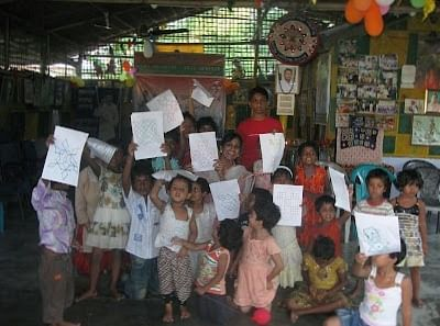 On World Literacy Day, Susheela's Kolams Traveled Across The Nation