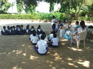 Overall it was an enlightening experience for the children at the school as well as the Nirmal Bharat Yatra team as they learnt from each other.