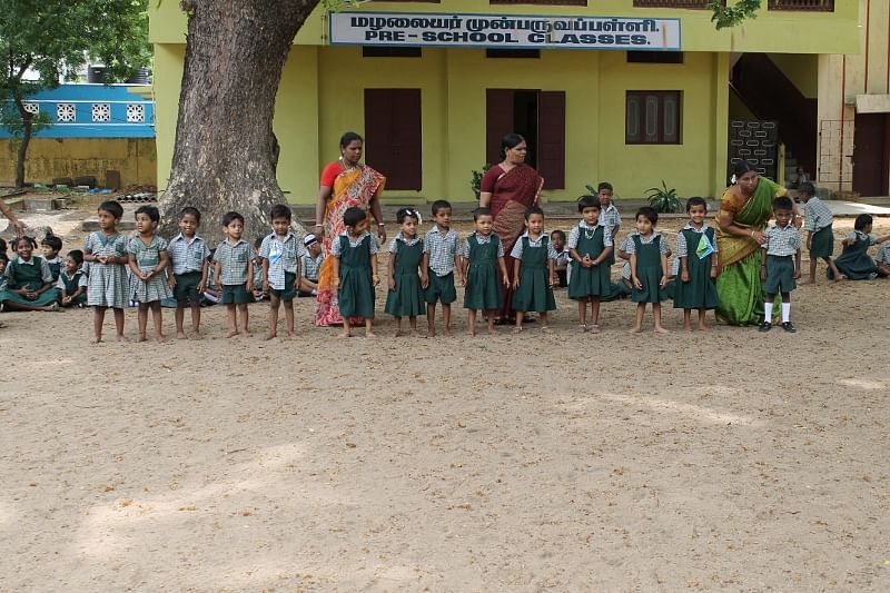 Little School Kids Primary Kids at The School
