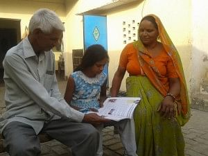 Pooja used to beg on the streets of Hisaba village in Uttar Pradesh's Baghpat district when Sunita Yadav from Hisaba village of Baghpat district, brought her to her home. Today, Sunita is a mother to this Class Five student.