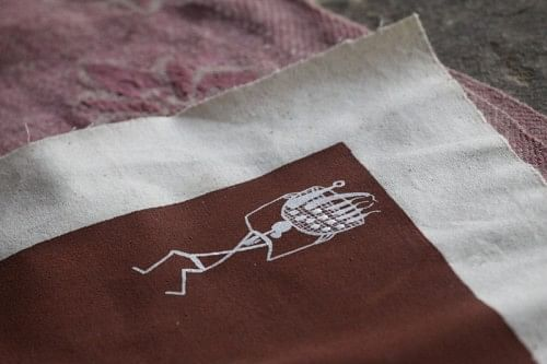 Warli painting: a detail