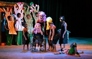 For their Silver Jubilee celebrations this year, the children at Shishu Sarathi performed a play Buddhuram, and now they are coming to Delhi to put up a show!