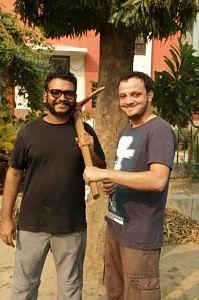 Hari Chakyar (L) and Anthony Karbhari (R)