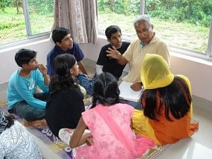 VSET imparts value education in a non-authoritarian manner, with the help of friendly facilitators