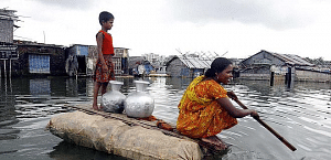 Women need to be prepared and empowered to tackle precarious situations and save lives during natural disasters like the recent floods in Bihar.