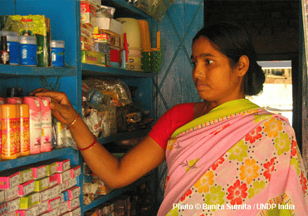 Kiran Devi, a community volunteer in supaul, Bihar
