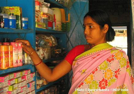Kiran Devi, a community volunteer in supaul, Bihar