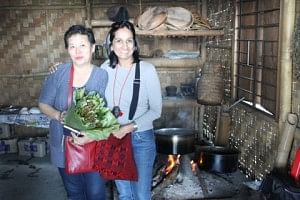 The food is primarily meat-based, but there are some exciting vegetarian options as well. Meena learnt to cook Lutho food with a family. Lutho is a tribe in Nagaland.