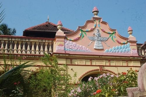 A Parsi mansion.
