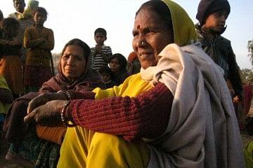 Gyarsi Bai Sahariya who has led the Sahariyas struggle in Baran
