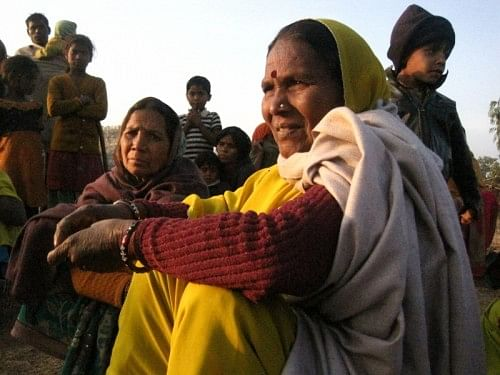 Gyarsi Bai Sahariya who has led the Sahariyas struggle in Baran