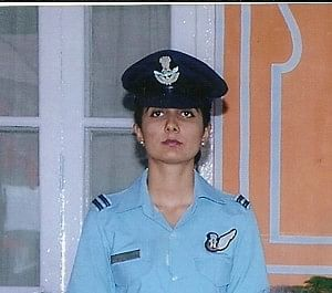 Flight Lieutenant Nivedita Choudhary became the first woman from the Indian Air Force (IAF) to summit the Mt. Everest - and the first woman from Rajasthan to achieve this feat. (Credit: Nivedita Choudhary\WFS)