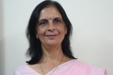 Preeti Monga, now in her 50s, was six years old when her visual disability was first diagnosed. Today, she runs are own organisation that motivates, trains and counsels people with disability. (Courtesy: Preeti Monga)