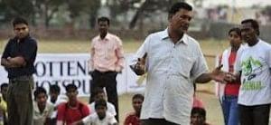 Vijay Barse, who founded Slum Soccer 12 years ago.